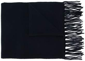 Falke frayed edge scarf