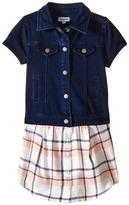 Splendid Littles Cap Sleeve Indigo/Woven Top (Toddler)