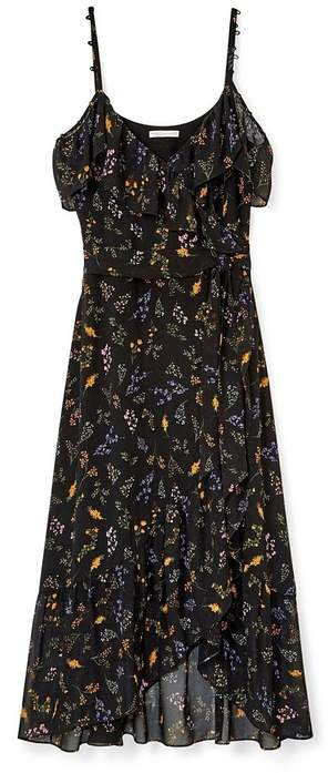 Rebecca Minkoff Jessica Wrap Ruffle Dress