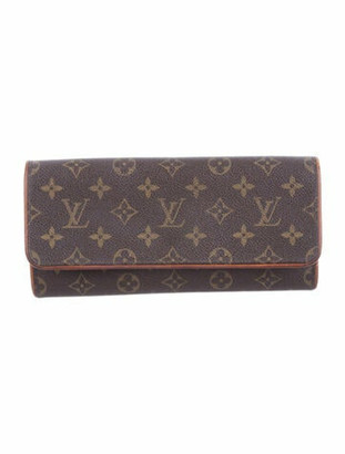 Louis Vuitton Monogram Pochette Twin GM olive