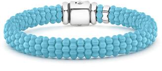 Lagos Blue Caviar Ceramic Bead 9mm Bracelet