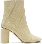 Acne Studios Ivory Patent Allis Boots