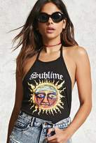 Forever 21 Sublime Graphic Halter Top