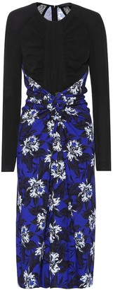 Proenza Schouler Floral-printed jersey dress