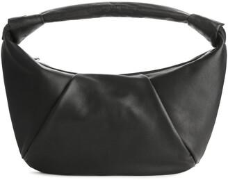 Arket Knot-Detail Soft Leather Bag