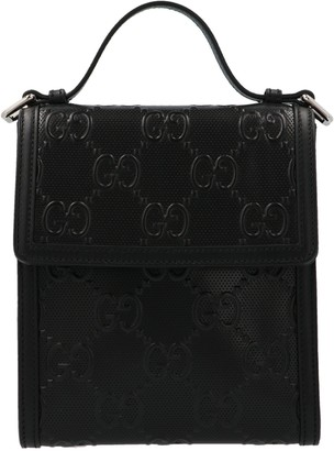 Gucci GG Embossed Messenger Bag