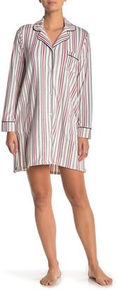 Donna Karan Printed Sleep Shirt