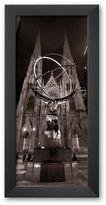 "Art.com Saint Patrick's Cathedral, New York City"" Framed Art Print by Henri Silberman"