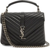 Saint Laurent Collège medium leather shoulder bag
