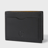 Paul Smith Men's Black Leather PS Logo Billfold Wallet