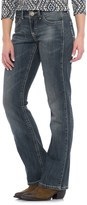Wrangler Mae Mid-Rise Jeans - Bootcut, Stretch Denim (For Women)