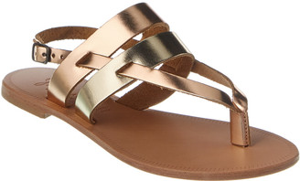 Joie Positano Leather Sandal