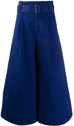 A.F.Vandevorst belted wide-leg trousers
