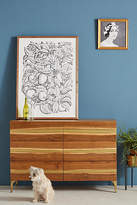 Anthropologie Prana Live Edge Six-Drawer Dresser