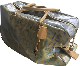 Louis Vuitton Yellow Synthetic Travel bags