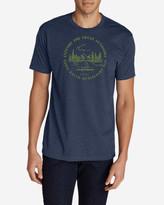 Eddie Bauer Men's Graphic T-Shirt - Canoe
