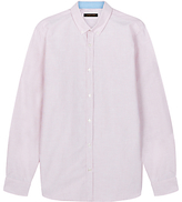Jaeger Pick And Pick Shirt, Anemone Red