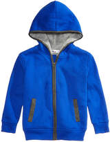 Epic Threads Fleece-Lined Full-Zip Hoodie, Little Boys, Created for Macy's