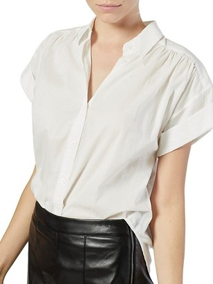 Naro Short-Sleeve Cotton Shirt