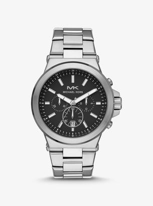 Michael Kors Oversized Dylan Silver-Tone Watch