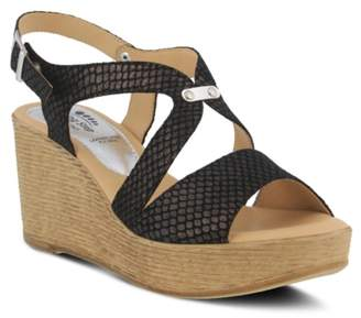 Spring Step Nevena Wedge Sandal