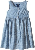 Polo Ralph Lauren Chambray Dress (Little Kids)