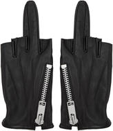 99% Is Black Single-finger Zip Gloves