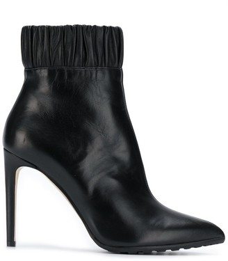 Chloé Gosselin ruched ankle boots
