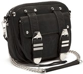 Buckled Up Boyfriend Leather Crossbody Bag