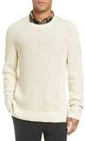 Vince Men's Rib Knit Cotton Pullover