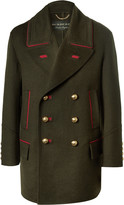 Burberry - Oversized Double-breasted Cashmere And Wool-blend Coat