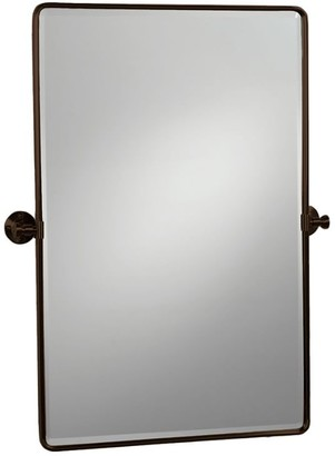 Pottery Barn Vintage Rounded Rectangle Pivot Mirror