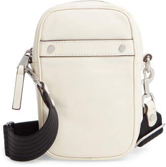 Treasure & Bond Murphy Glazed Leather Crossbody Bag