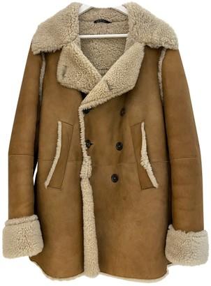 Gucci Beige Shearling Coats