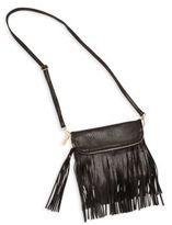Bari Lynn Girl's Fringe Shoulder Bag