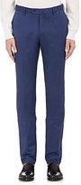 Incotex Men's S-Body Slim-Fit Linen-Cotton Trousers