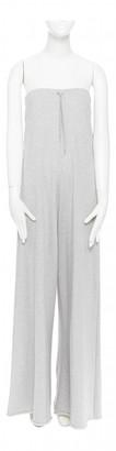 Vetements Grey Cotton Jumpsuits