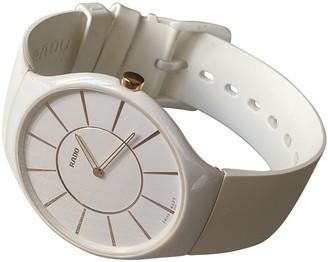 Rado White Ceramic Watches