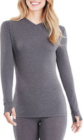 Cuddl Duds Active Layer V-Neck Shirt
