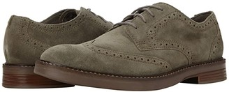 Clarks Paulson Wing (Olive Suede) Men's Shoes