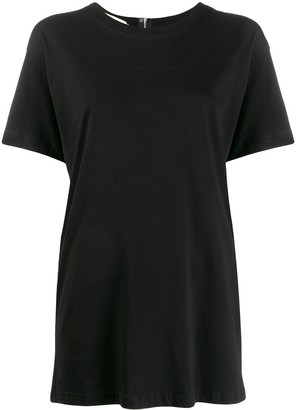 Alyx slit back zipped T-shirt