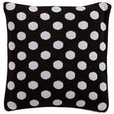 Ethan Allen | Disney Dotty Knit Pillow, Mickey's Ears Black