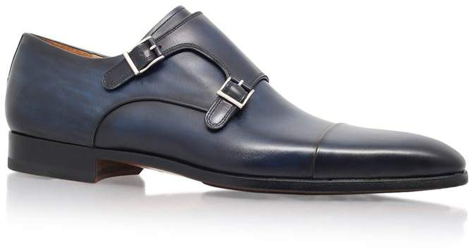 Magnanni Double Monk Shoe