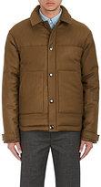 Acne Studios Men's Mountain Puffer Jacket-DARK GREEN