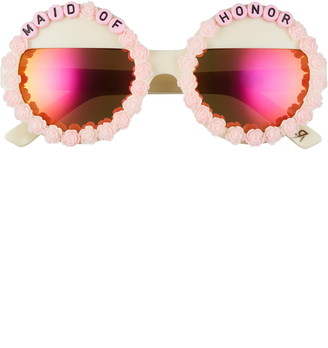 Rad + Refined Maid Of Honor Round Sunglasses