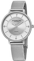 Stuhrling Original Womens Silver Tone Strap Watch-Sp16309