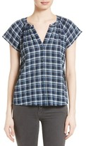 Soft Joie Women's Corla Plaid Top