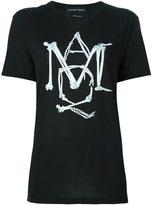 Alexander McQueen bones logo print T-shirt