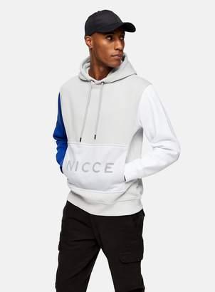 Nicce TopmanTopman Grey Mesh Pocket Hoodie