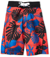 Speedo Boys 8-20) Tropical Board Shorts